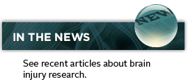 See recent articles about brain injury research